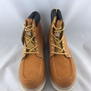 0c9cd72e69c Roofing Nubuck Leather Men's Work Boots wide width Boutique